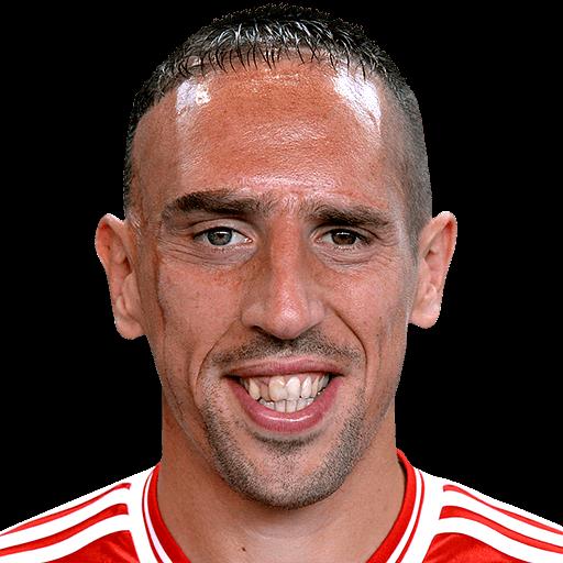 Ribéry le pega a Guardiola