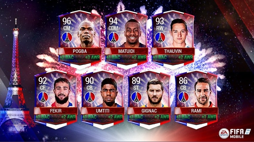 FIFA Mobile celebrates Bastille Day with another Nationality based ...