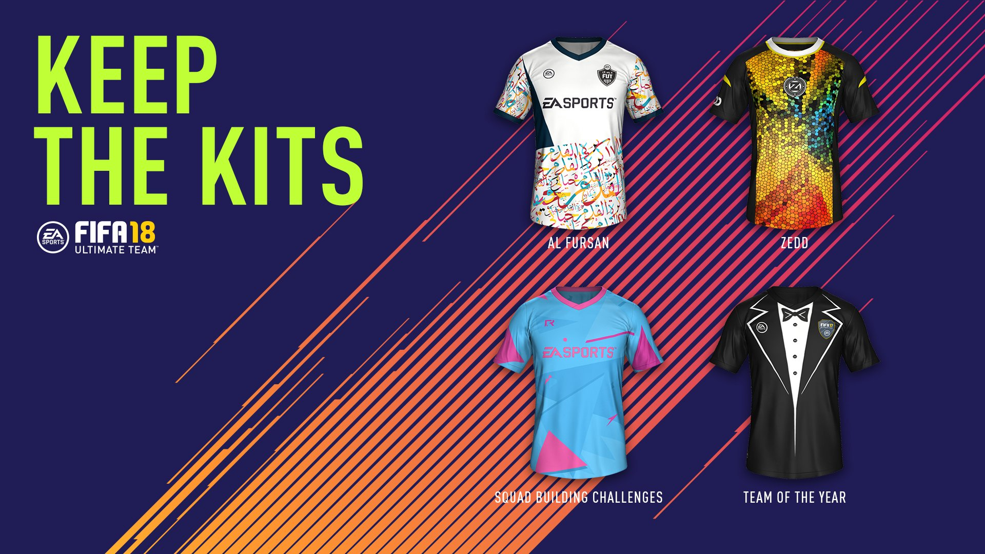 play 5 days of fifa 17 by 4 september and get kits in fifa 18