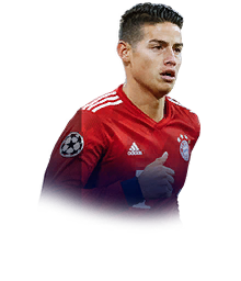 James Rodriguez Fifa 19 90 Champions League Live Prices And Rating Ultimate Team Futhead