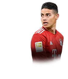 James Rodriguez Fifa 19 90 If Prices And Rating Ultimate Team Futhead