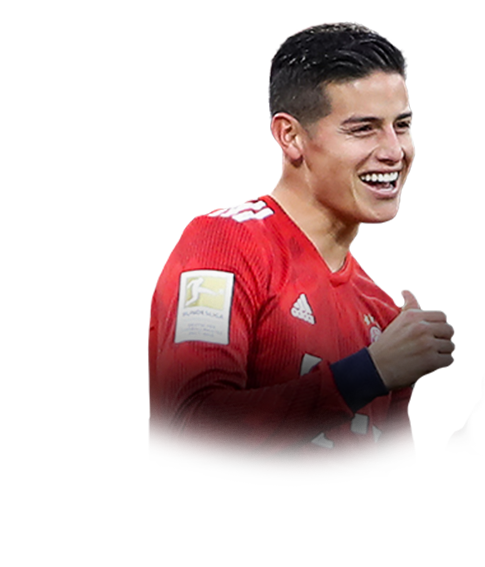 James Rodriguez Fifa 19 91 Champ Prices And Rating Ultimate Team Futhead