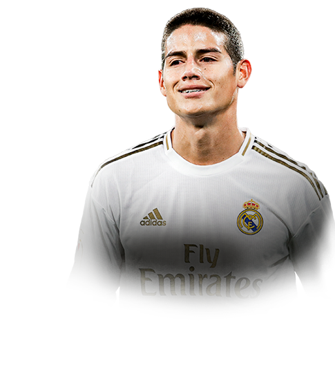 James Rodriguez Fifa 20 86 Totw Moments Prices And Rating Ultimate Team Futhead