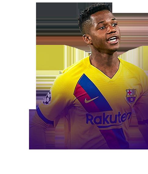 Ansu Fati Fifa 20 93 Champions League Live Prices And Rating Ultimate Team Futhead