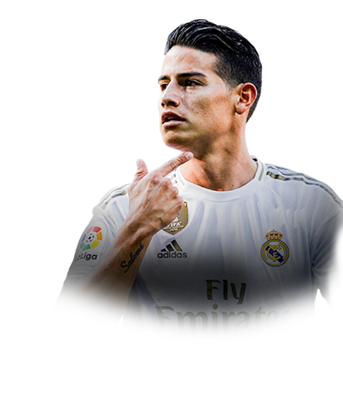 James Rodriguez Fifa 20 88 Scream Prices And Rating Ultimate Team Futhead