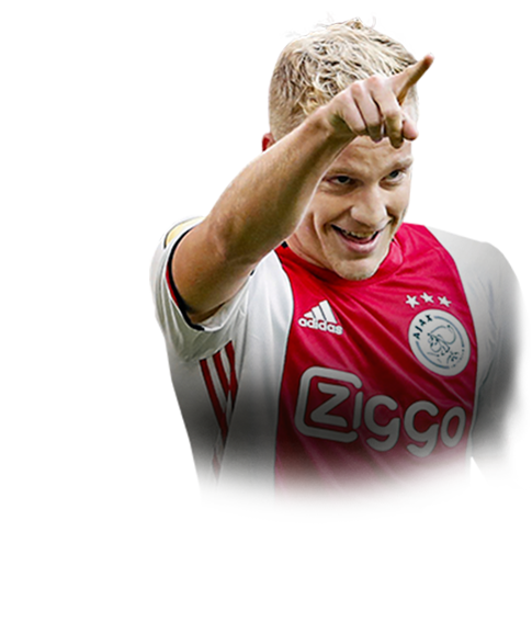 Donny Van De Beek Fifa 20 84 If Prices And Rating Ultimate Team Futhead