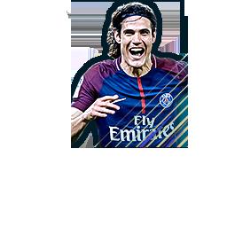 Edinson Cavani 91 Ligue 1 Team Of The Season Fifa Mobile 18 Futhead