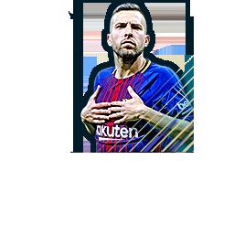 29a52db3b Jordi Alba 89 La Liga Team of the Season FIFA Mobile 18