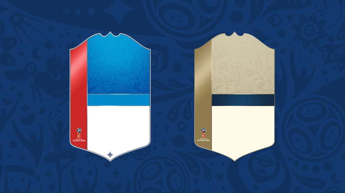 FIFA 18 World Cup Player Item Concepts