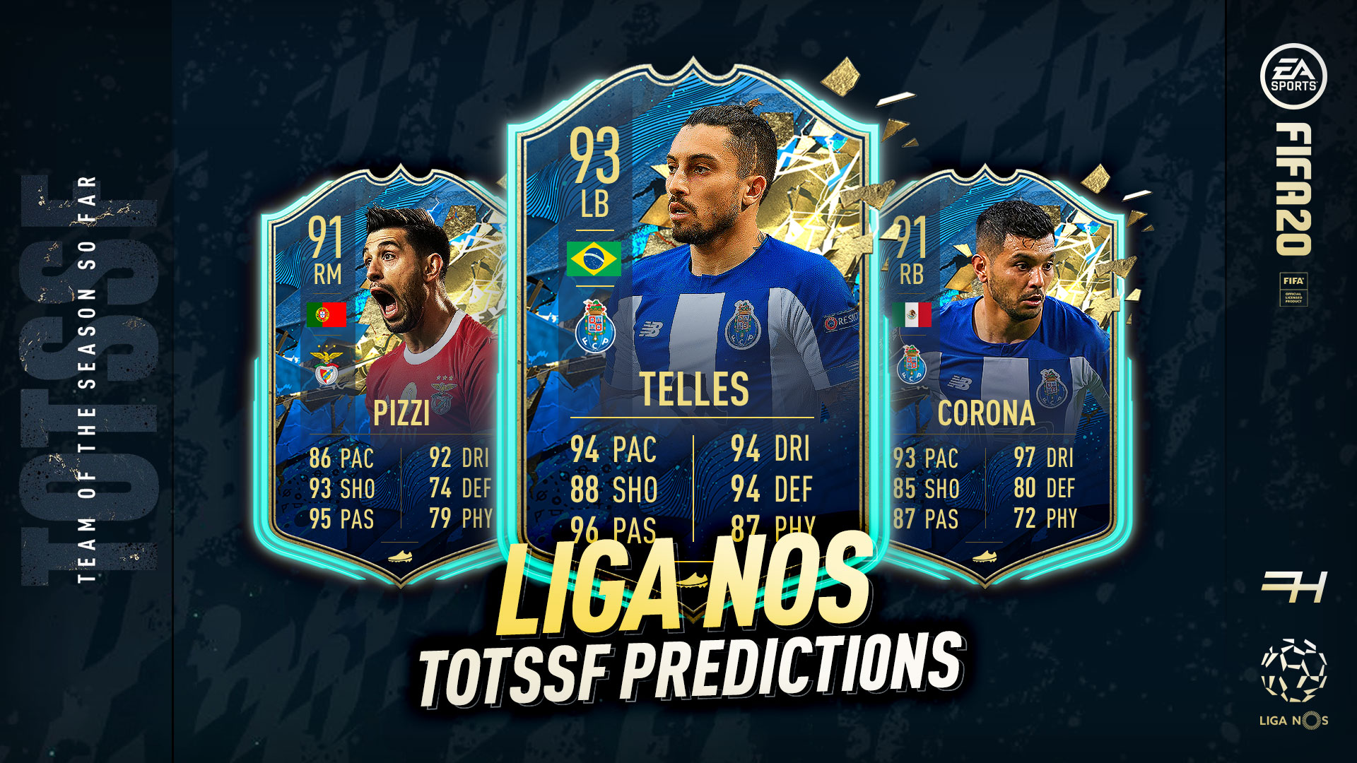 Fifa 20 Totssf Predictions Liga Nos Futhead News