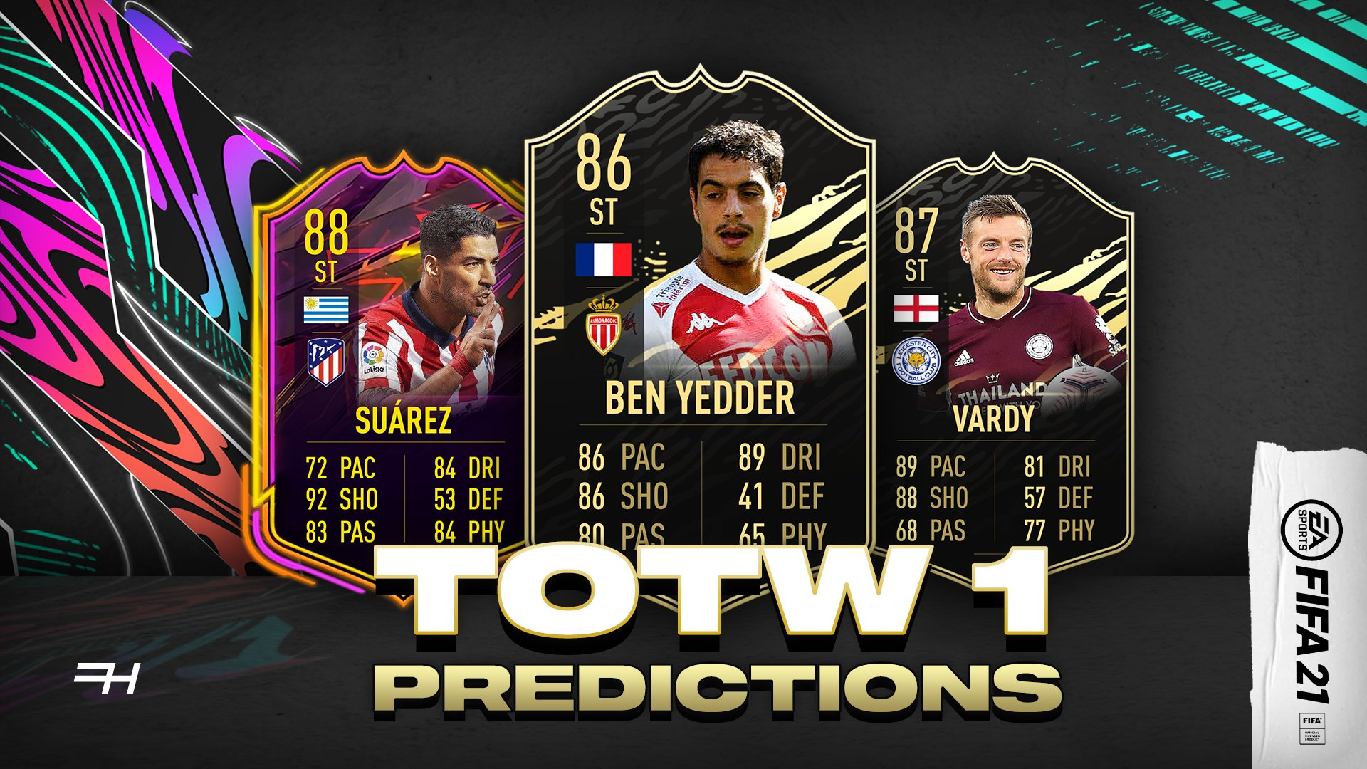 team of the week 1 predictions fifa 21 futhead news week 1 predictions fifa 21
