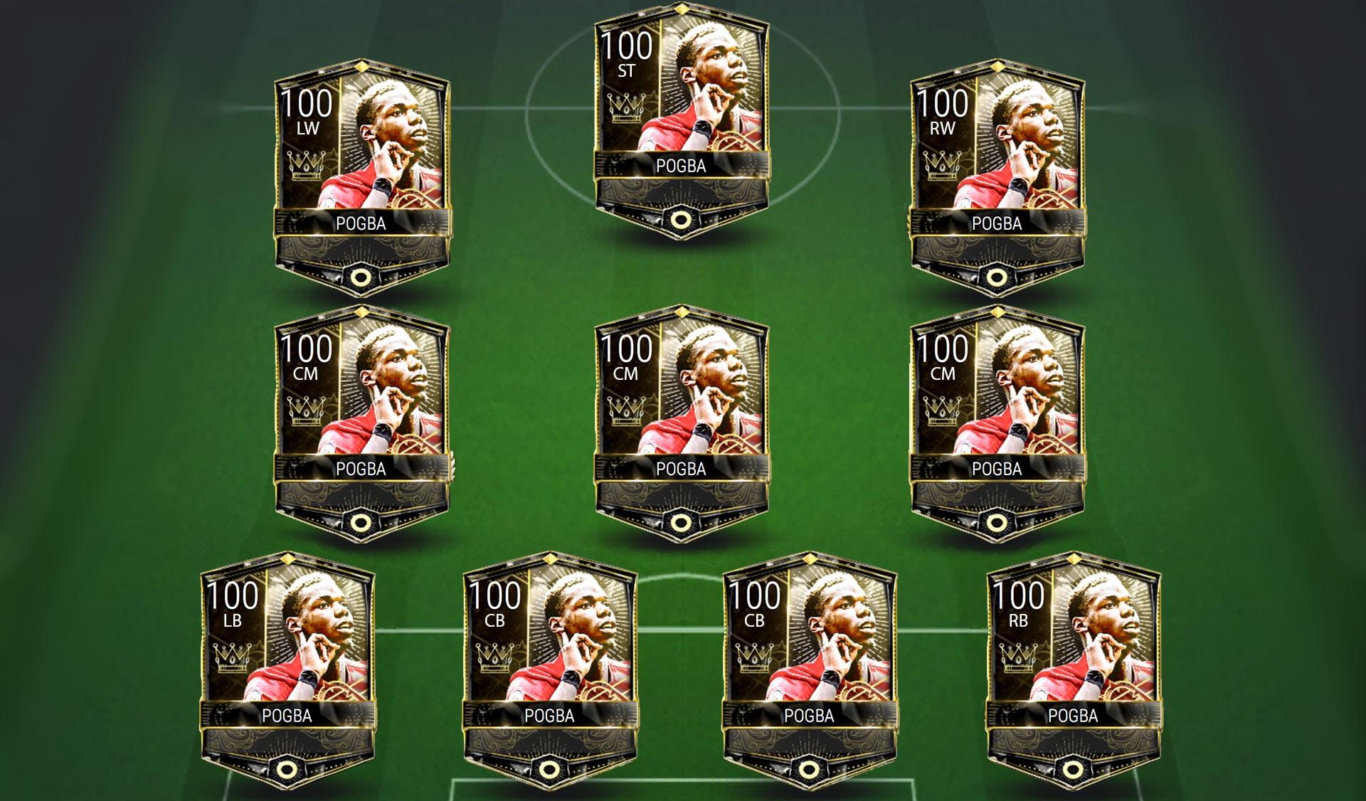 Futmocalc's FIFA Mobile Team of the Clones - Futhead News