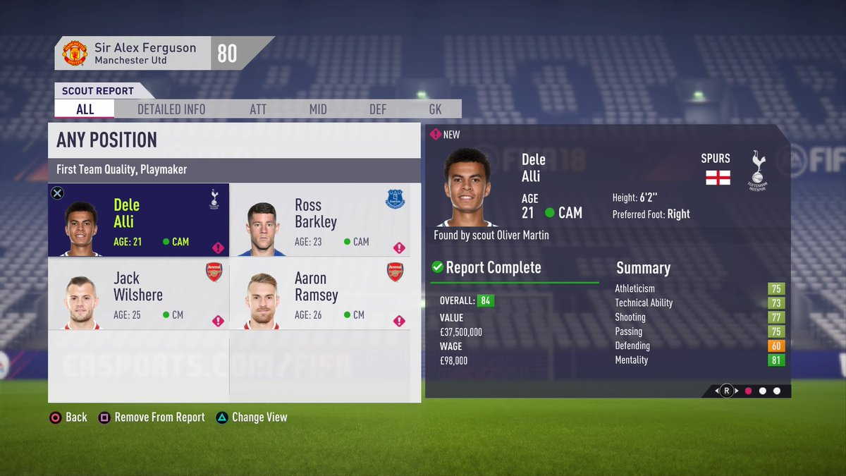 FIFA 19 Wish List  Career Mode - Futhead News 8c4410343