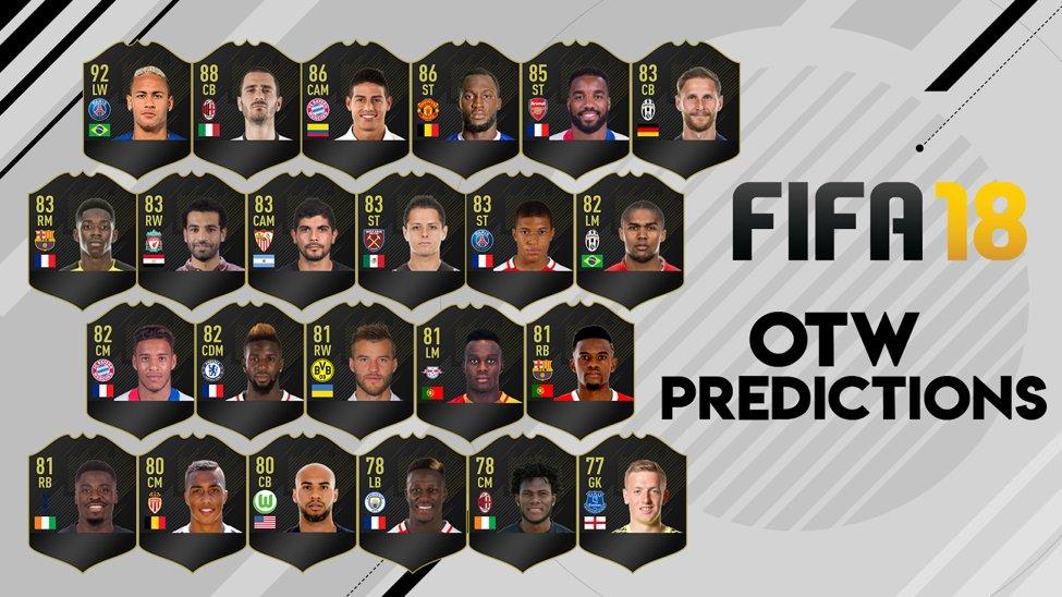 Otw Fifa 18