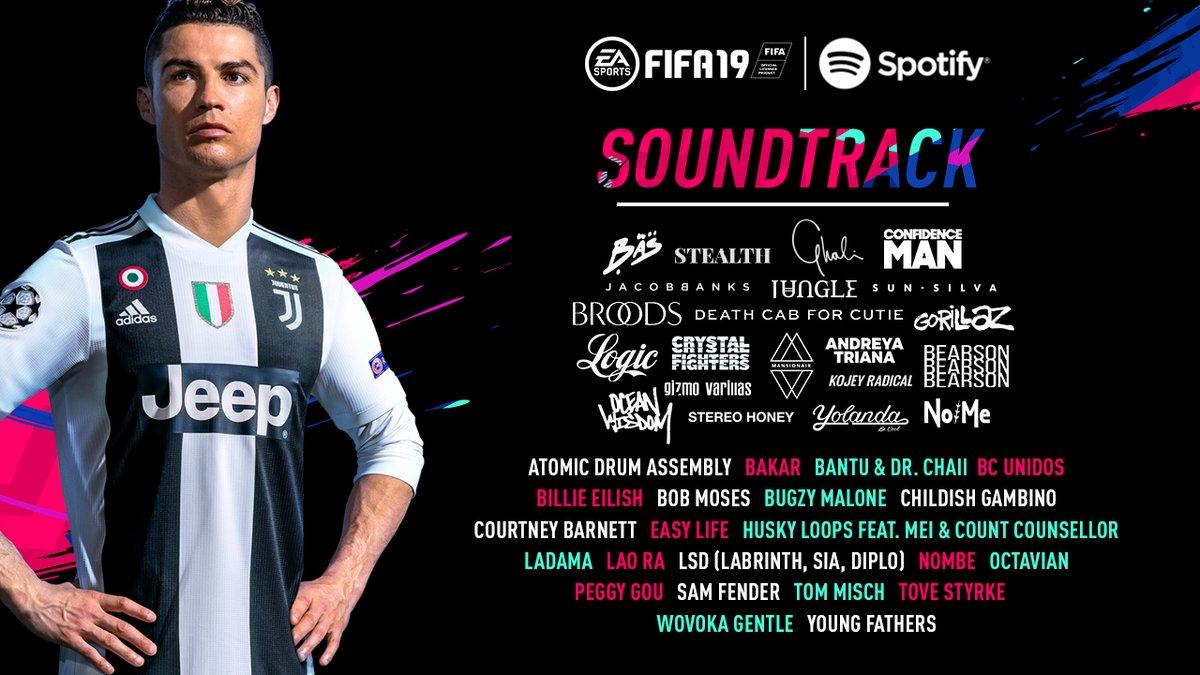 97614408d414 FIFA 19 Soundtrack List - Futhead News