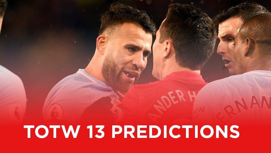 totw 13 predictions fifa 20