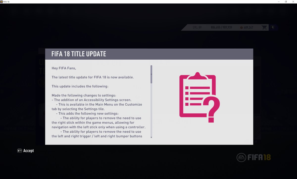 FIFA 18 Patch 7 Title Update Notes: Everything you need to know