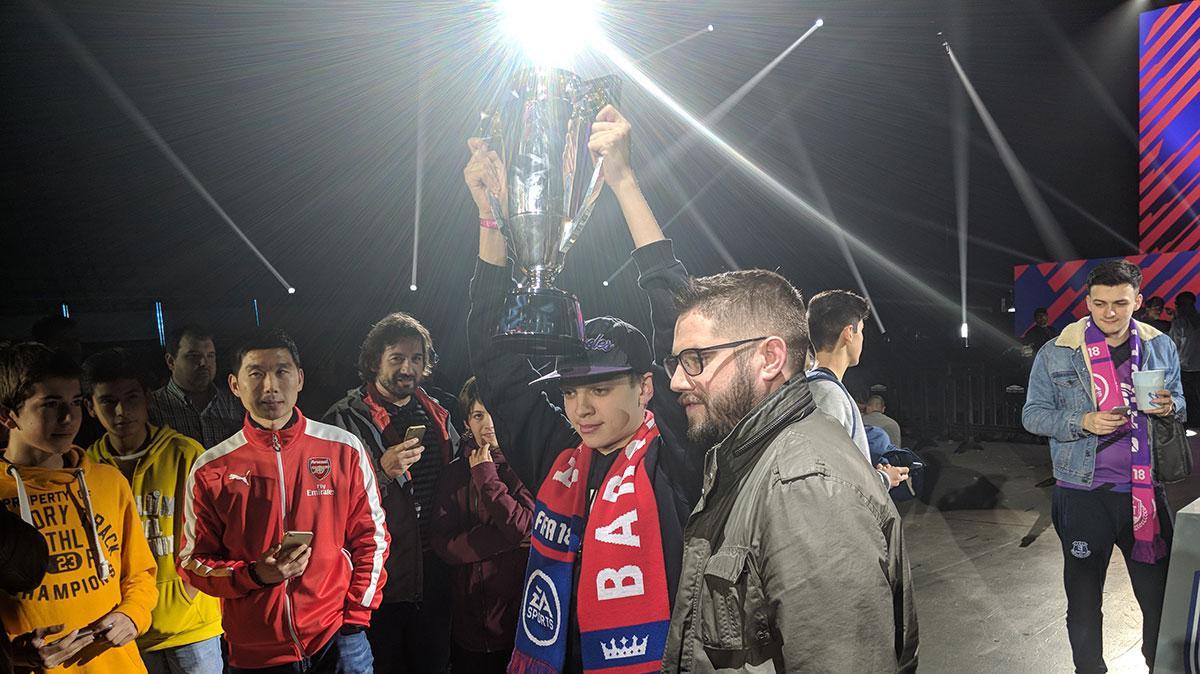 Dhtekkz Beats Nicolas99fc 9 3 To Win 2018 Barcelona Fut Champions
