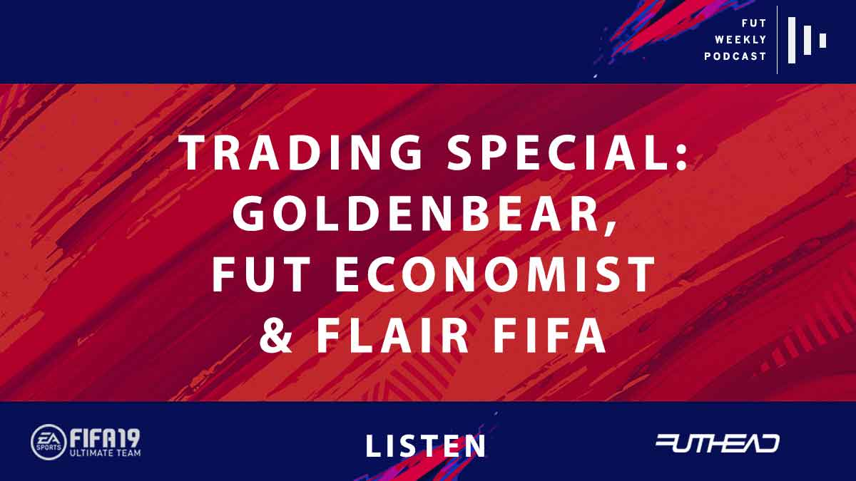 Goldenbear, Flair, and FUT Economist in an all-star FIFA 19